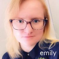 Emily Forster, BW student who attended Fresh Inc Festival