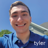 Tyler Kowal, BW student who attended Fresh Inc Festival