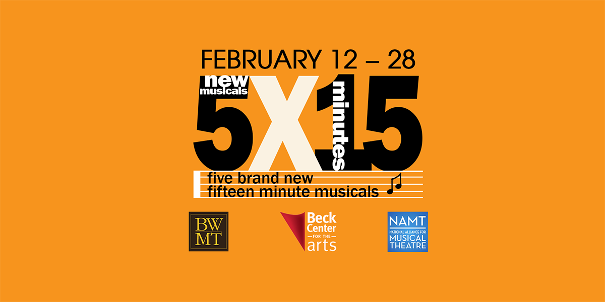 "Music Theatre: ""5 New Musicals x 15 Minutes"""