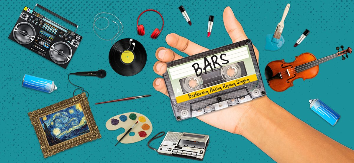BARS (Beatboxing, Acting, Rapping, Singing)