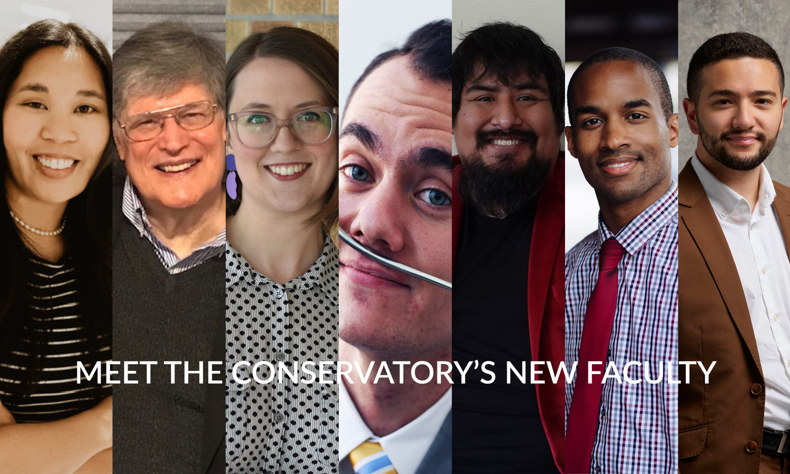 """Featured image for """"Introducing new Conservatory faculty"""""""