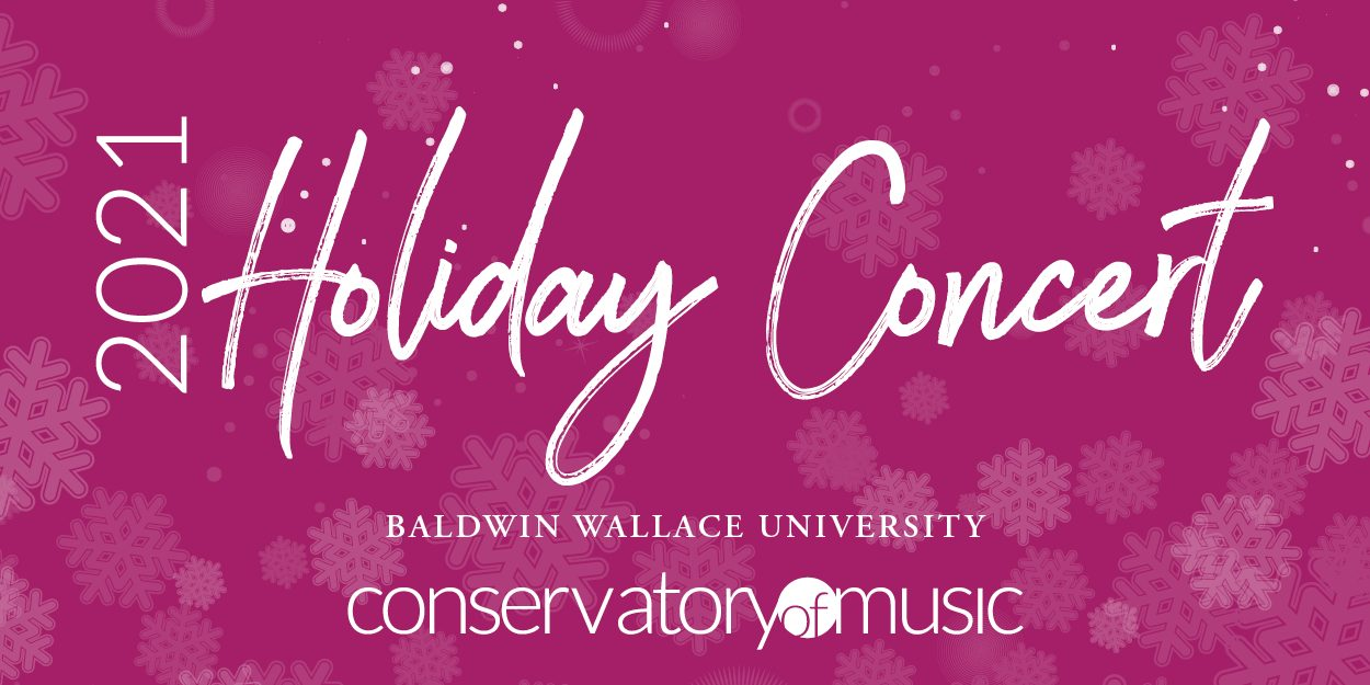 BW Conservatory Holiday Concert