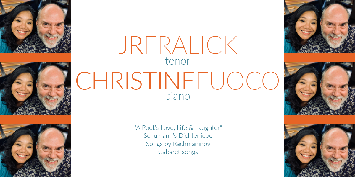 Faculty Recital: JR Fralick and Christine Fuoco